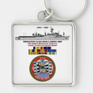 USS POINT DEFIANCE (LSD-31) KEYCHAIN