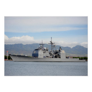 USS Port Royal (CG 73) Poster
