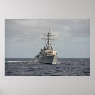 USS Porter (DDG 78) Poster