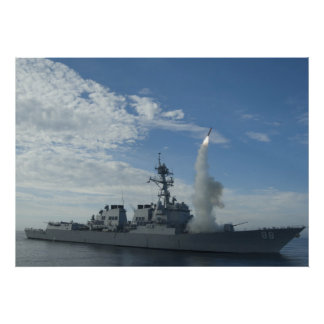 USS Preble DDG 88 Poster