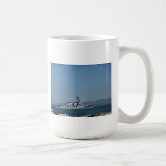 USS Preble Taza Básica Blanca