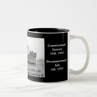 USS President Jackson (APA-18) Mugs