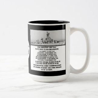 USS Preston (DD-795) Coffee Mugs