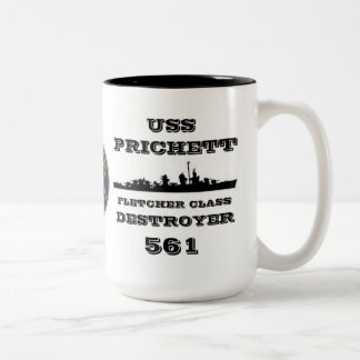 USS Prichett DD-561 Mugs