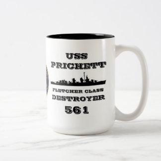 USS Prichett (DD-561) Tazas De Café