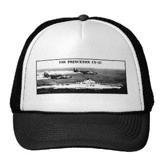 USS PRINCETON CV-37 TRUCKER HAT