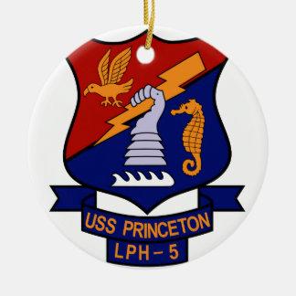 USS Princeton LPH-5 Ceramic Ornament