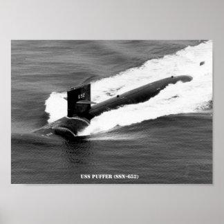 USS PUFFER POSTER