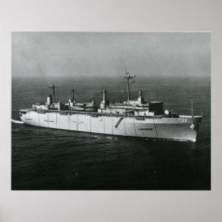 USS Puget Sound Poster