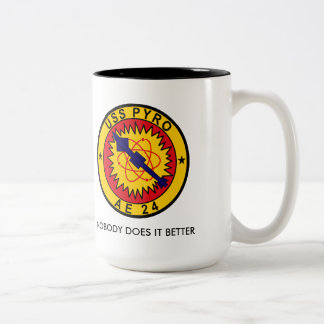USS PYRO AE-24 COFFEE MUG