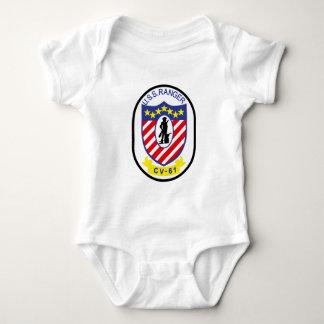 USS Ranger (CV-61) Baby Bodysuit