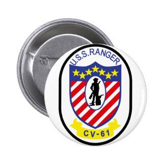 USS Ranger (CV-61) Button