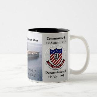 USS RANGER (CVA / CV-61) COFFEE MUGS