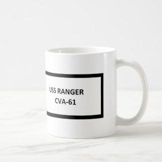 USS RANGER VIETNAM WAR VETERAN CLASSIC WHITE COFFEE MUG