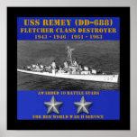 USS Remey (DD-688) Print