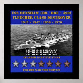 USS Renshaw (DD-499) Impresiones