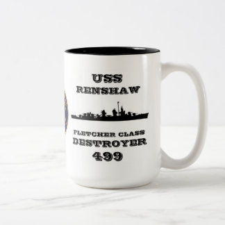 USS Renshaw (DD-499) Taza De Café