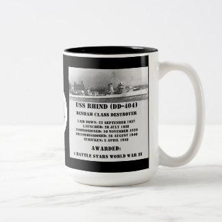 USS Rhind DD-404 Coffee Mugs