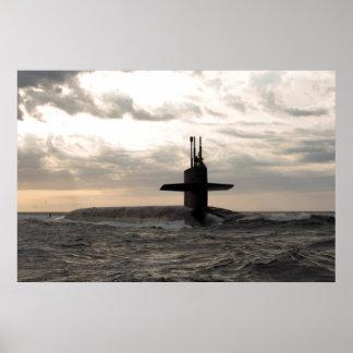 USS Rhode Island (SSBN 740) Poster