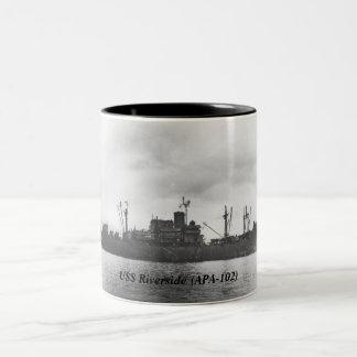 USS Riverside (APA-102) Coffee Mug