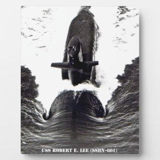 USS ROBERT E. LEE PLAQUE