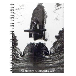 USS ROBERT E. LEE SPIRAL NOTEBOOK