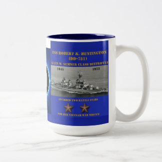USS Roberto K. Huntington (DD-781) Taza De Café