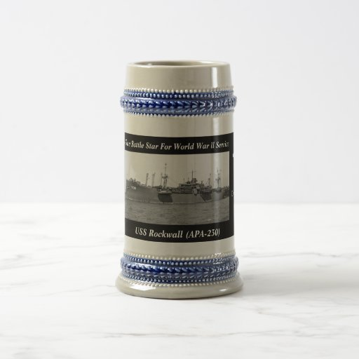 USS Rockwall (APA-230) Coffee Mug
