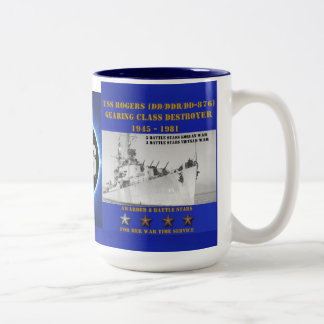 USS Rogers (DD-876) Mug