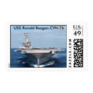 USS Ronald Reagan (CVN 76) Postage Stamps