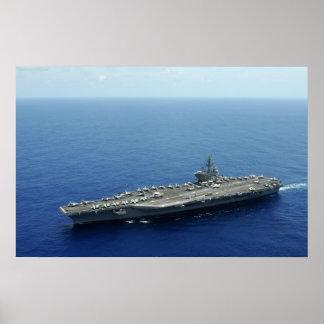 USS Ronald Regan Poster