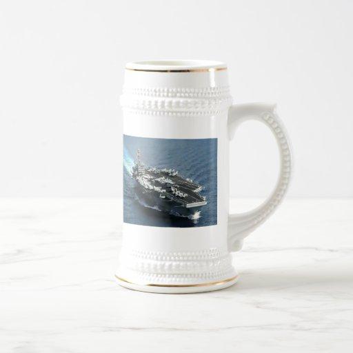 USS ROOSEVELT COFFEE MUG