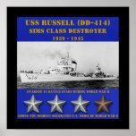 USS Russell (DD-414) Impresiones