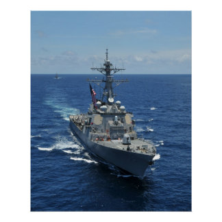 USS Russell (DDG 59) Poster