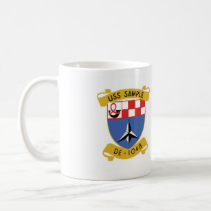 USS SAMPLE (DE-1048) COFFEE MUG