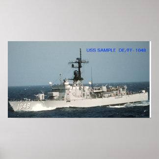 USS SAMPLE poster
