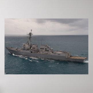 USS Sampson (DDG 102) Póster