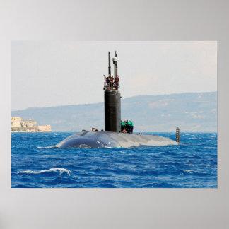 USS San Juan (SSN 751) Póster