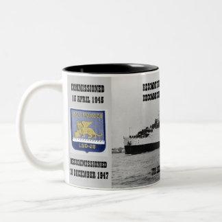USS SAN MARCOS (LSD-25) COFFEE MUG