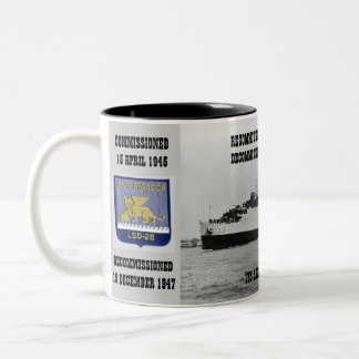 USS SAN MARCOS LSD-25 COFFEE MUG