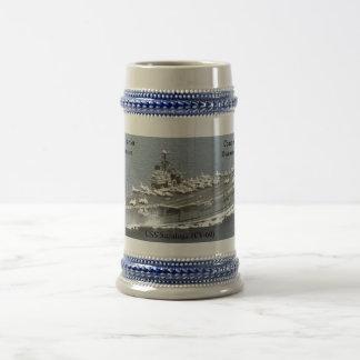 USS SARATOGA (CV-60) COFFEE MUG