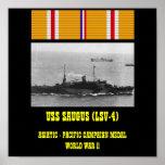 USS SAUGUS (LSV-4) POSTER