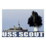 USS SCOUT POSTER