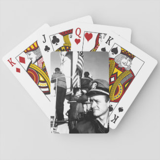 USS SEA DOG prowls the Pacific in_War Image Playing Cards