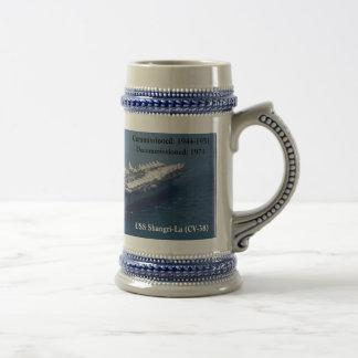 USS SHANGRI-LA (CV-38) COFFEE MUGS