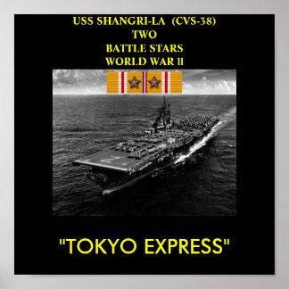 USS SHANGRI-LA  (CV-38) POSTER