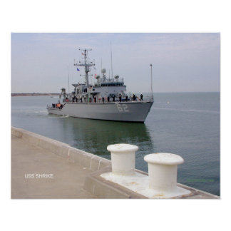 USS Shrike (MHC 62) Print