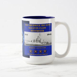 USS SHUBRICK (DD-639) MUGS