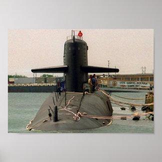 USS SIMON BOLIVAR POSTER