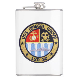 USS SPIEGEL GROVE (LSD-32) HIP FLASK